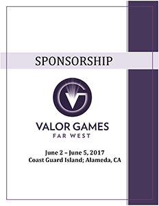 Valor Games Far West 2017 Sponsorship Brochure